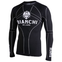 Bianchi Milano Verano Black Long Sleeve Baselayer