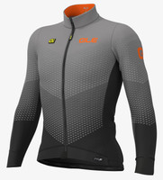 ALE' Delta Micro PRS Black Long Sleeve Jersey