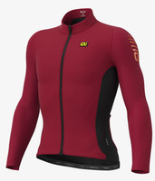 ALE' Clima R-EV1 Protection Warm Race Red Long Sleeve Jersey