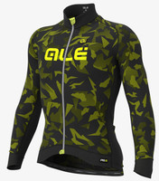ALE' Glass PRR Green Long Sleeve Jersey