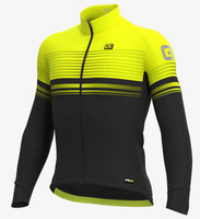 ALE' Slide PRR Yellow Long Sleeve Jersey