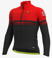 ALE' Slide PRR Red Long Sleeve Jersey