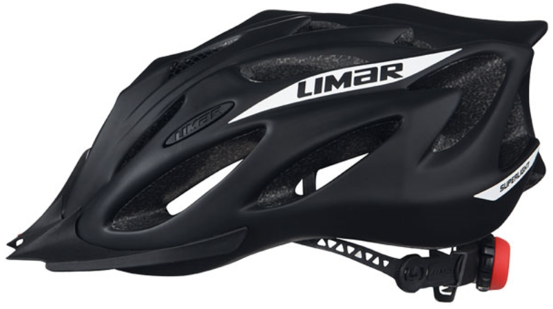 Limar Superlight+ Gravel Helmet Matt Black Side