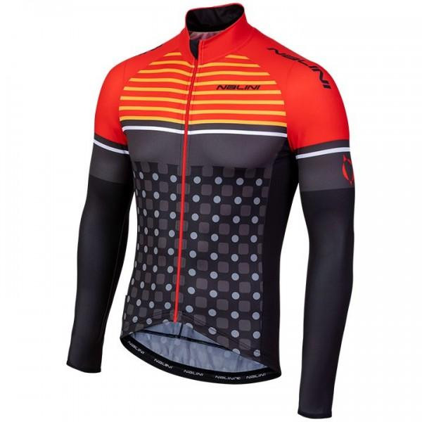 Nalini AIW TC 2.0 Red Long Sleeve Jersey
