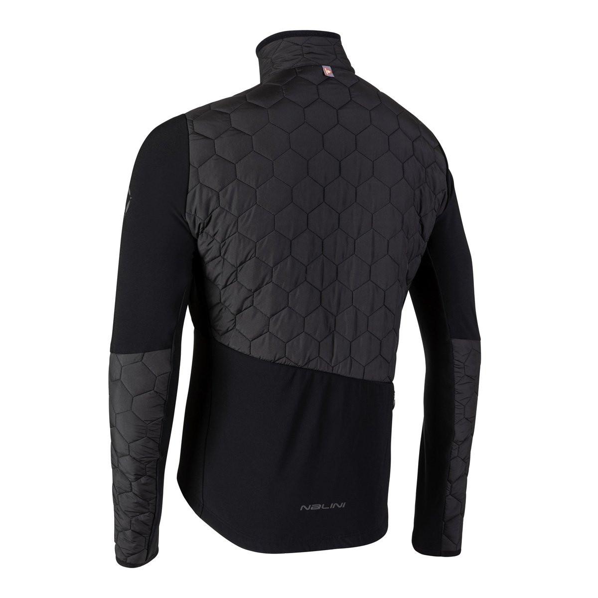 Nalini AIW Star Warm Primoloft Black Jacket Rear