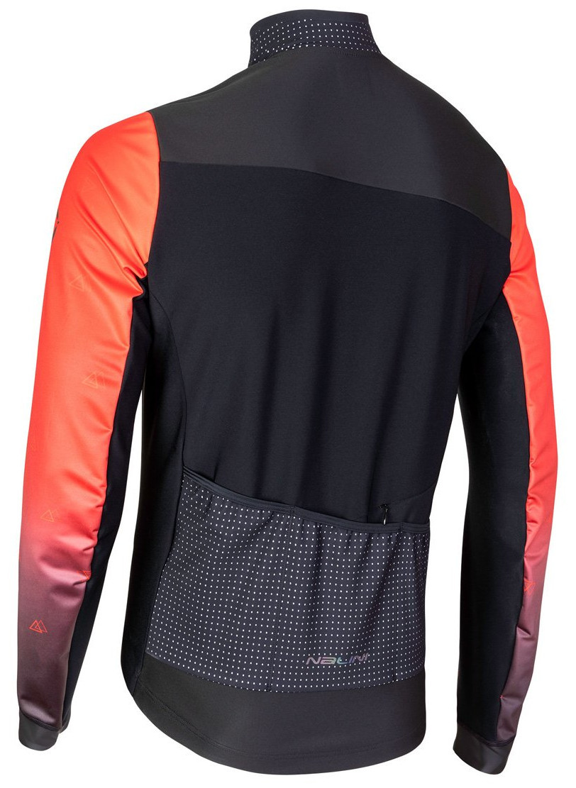 Nalini AIW Pro Gara 2.0 Red Jacket Rear