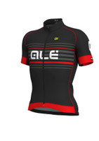 ALE Salita PRR Black Red Jersey