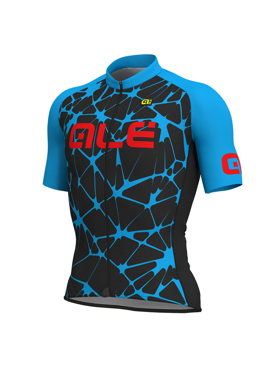 ALE Crackle Solid Blue Jersey