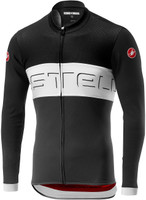 Castelli Pro Logo VI Thermal Black Long Sleeve Jersey