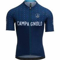 Campagnolo Quarzo Dots Dark Blue Jersey
