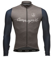 Campagnolo Palladio Wool Grey Long Sleeve Jersey