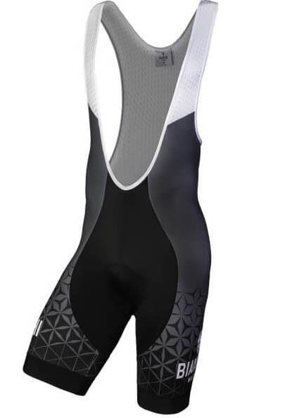 Bianchi Milano Rubbio Black Bib Shorts