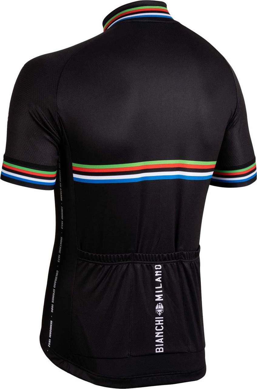 Bianchi Milano New Pride Black Jersey Rear
