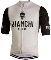Bianchi Milano Pedaso Black Grey Jersey XXXXL8/ XXXL USA