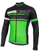 Nalini Fatica Green Black Long Sleeve Jersey