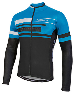 Nalini Fatica Blue Long Sleeve Jersey