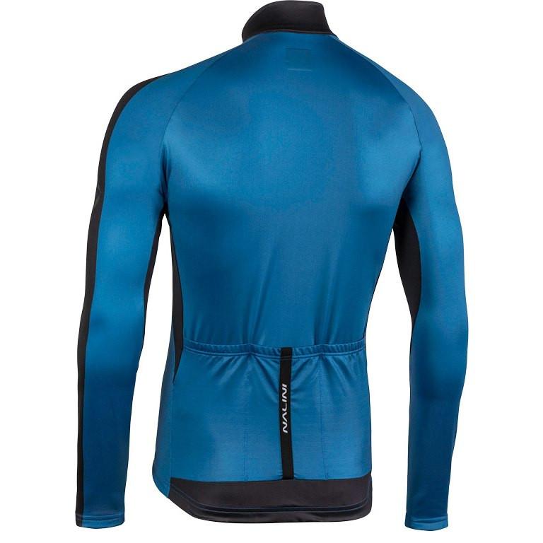 Nalini AHW LW Jersey Blue Long Sleeve Jersey Rear
