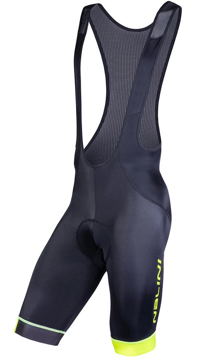 Nalini AIS Gregario 2.0 Yellow Black Bib Shorts