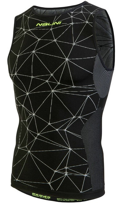 Nalini Tenno Base Layer Black Jersey