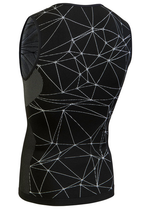 Nalini Tenno Base Layer Black Jersey Rear