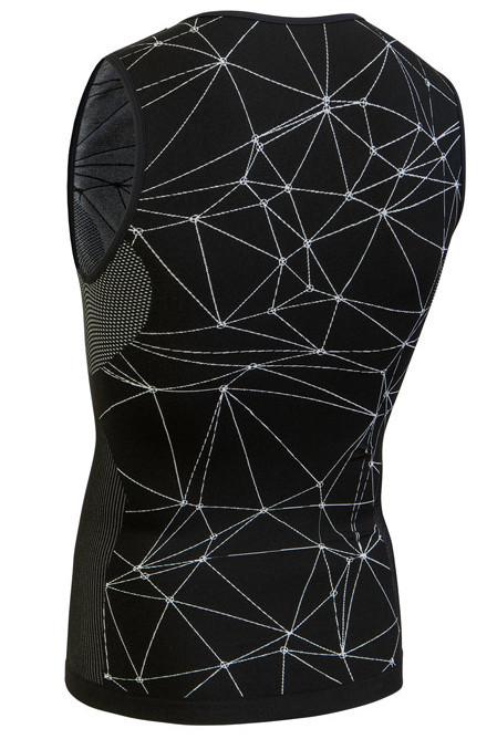Nalini Tenno Base Layer Black Jersey Rear