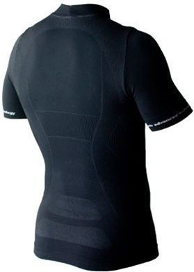 Nalini Sommerset Black Vented Base Layer Rear