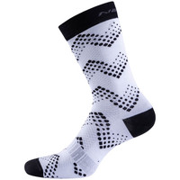 Nalini Fulmine 2.0 H22 White Black Socks