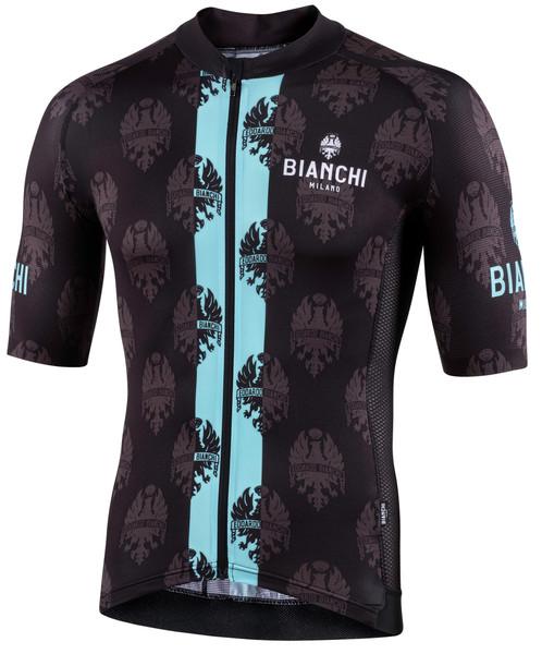 Bianchi Milano Ronaccio Black Green Jersey
