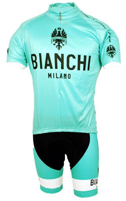 Bianchi Green Jersey  Front View