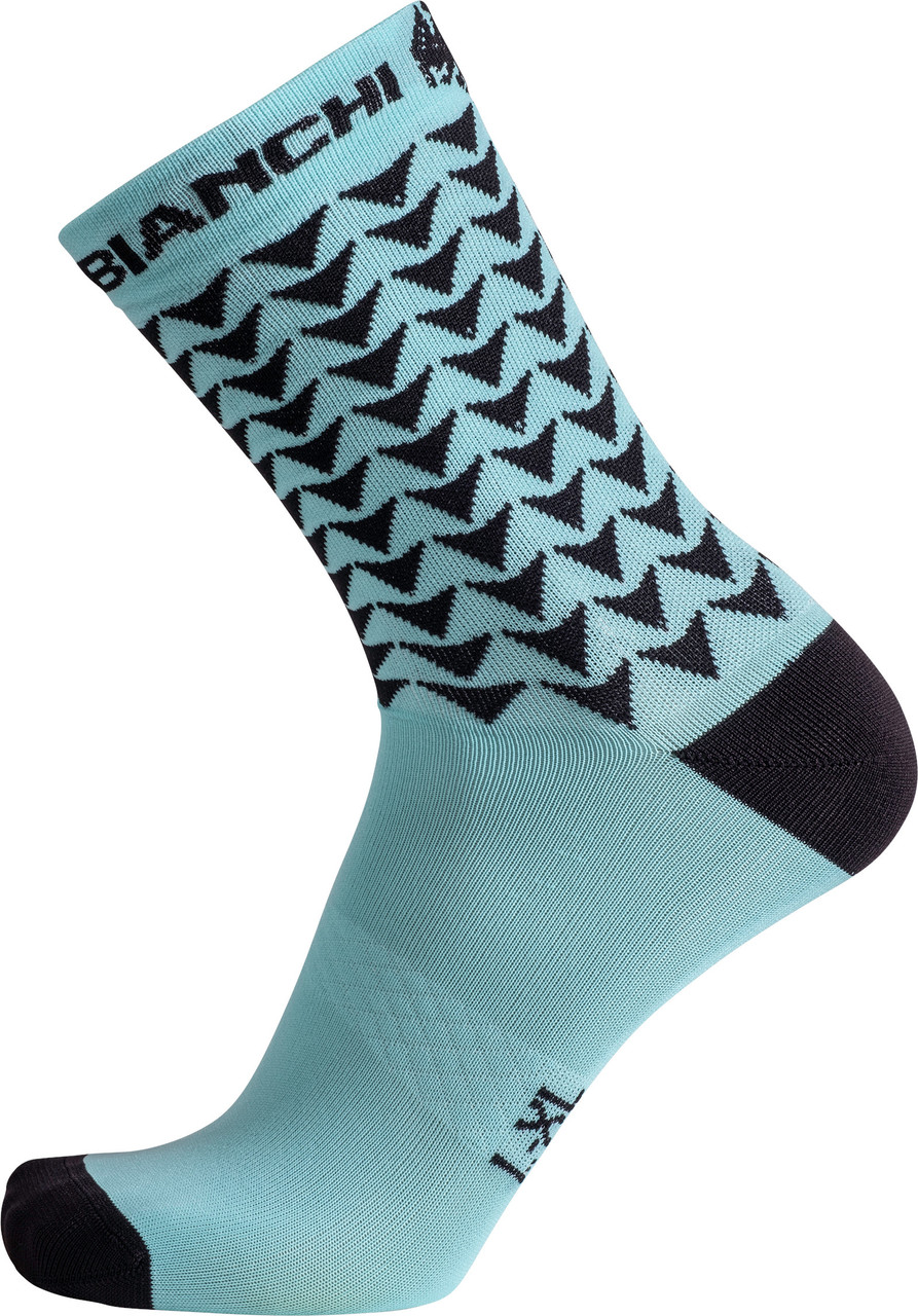 Bianchi Milano Maiori Green Black Socks