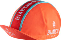 Bianchi Milano Neon Orange Red  4120 Cap