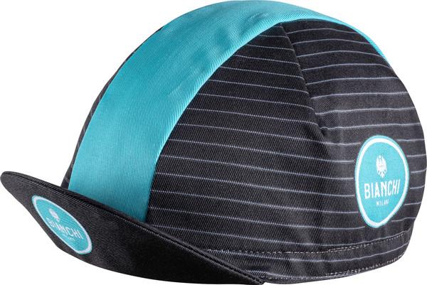 Bianchi Milano Neon Stripes Black Green 4001 Cap