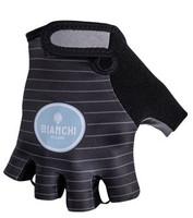 Bianchi Milano Enas Stripes Black Green Gloves