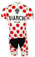 Bianchi Polka Dot Jersey  Front View