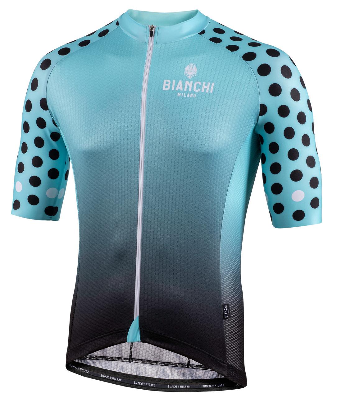 Bianchi Milano Cedrino Black Green Jersey