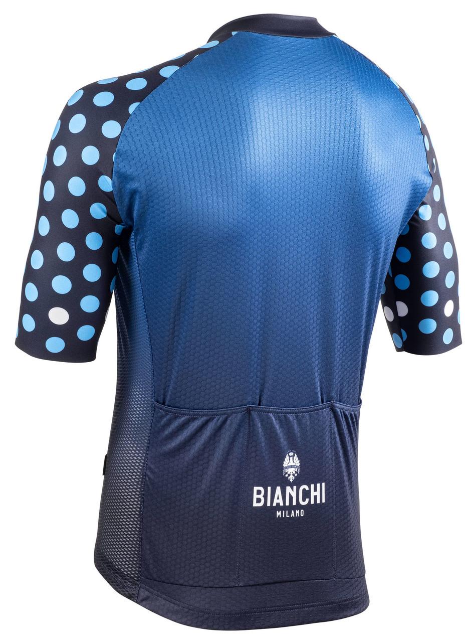 Bianchi Milano Cedrino Blue Blue Jersey Rear