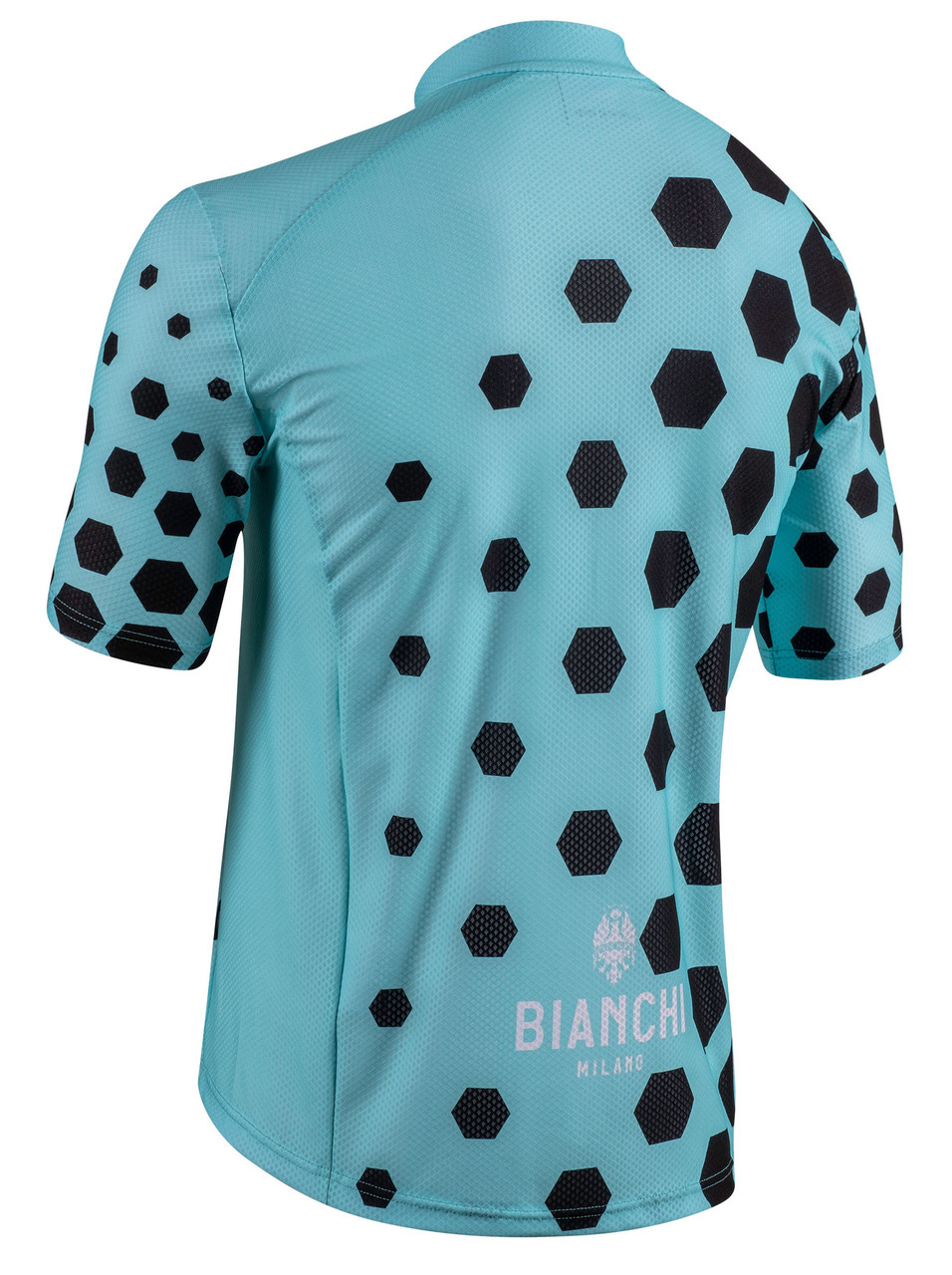 Bianchi Milano Cohingas Black Green Jersey Rear