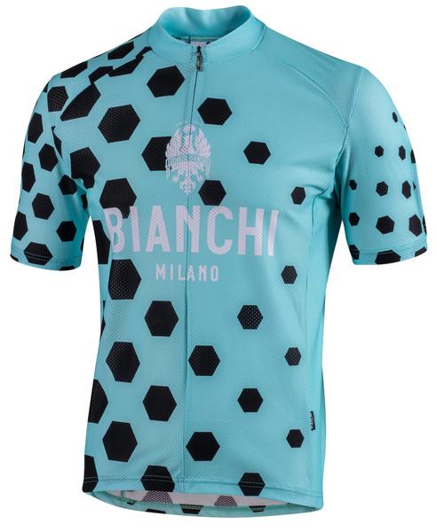 Bianchi Milano Cohingas Black Green Jersey