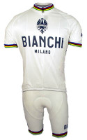 Bianchi Rainbow Jersey  Front View