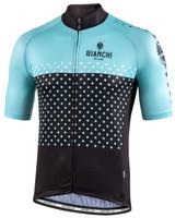 Bianchi Milano Quirra Green Black Jersey