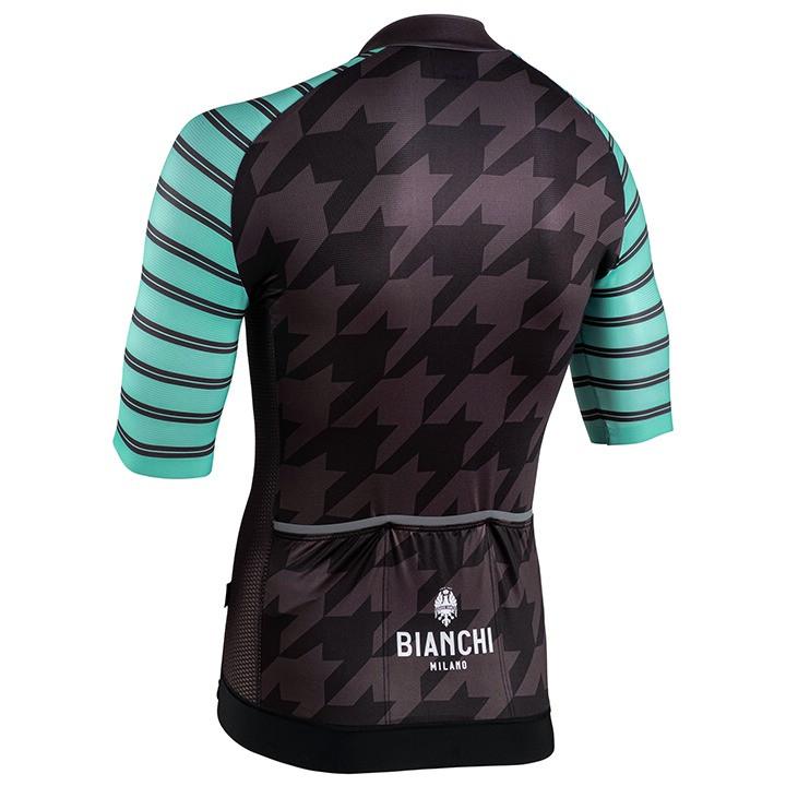 Bianchi Milano Flumini Black Green Jersey Rear