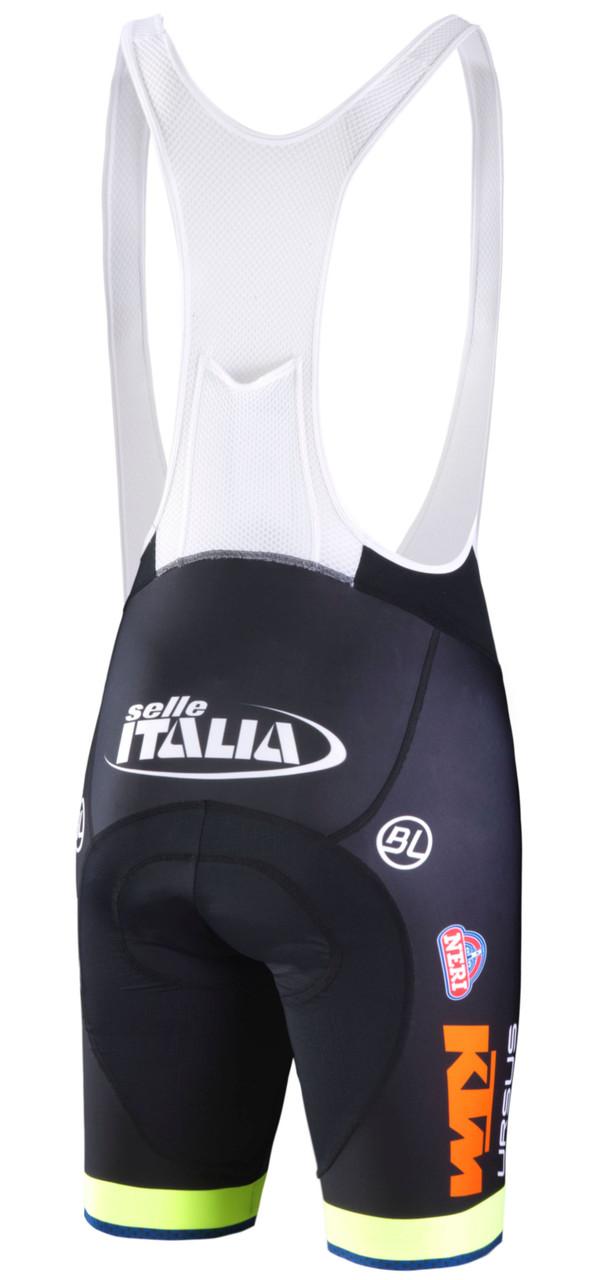Neri Sottoli Selli Italia Bib Shorts Rear