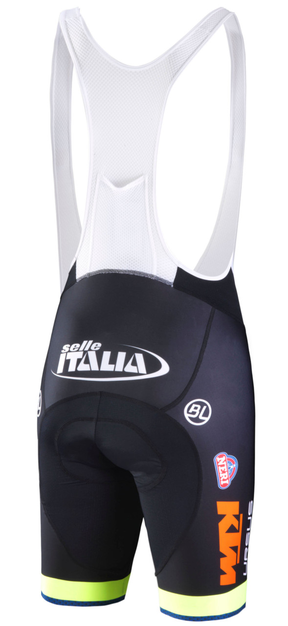 Neri Sottoli Selli Italia Bib Shorts Rear