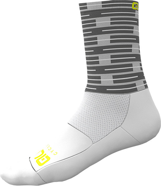 ALE' Fuga Socks 16CM High Cuff White Socks