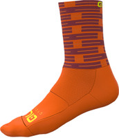 ALE' Fuga Socks 16CM High Cuff Orange Socks