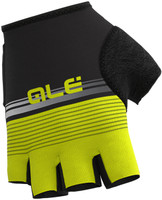 ALE' Classic Del Nord Yellow Fluo Black Gloves