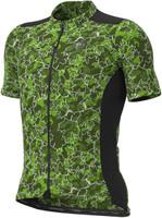 ALE' Gravel Khaki Green Leaf Jersey