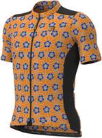 ALE' Gravel Khaki Orange Floral Jersey