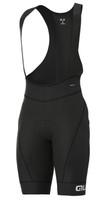 ALE' Agonista Plus R-EV1 8H Pad White Black Bib Shorts