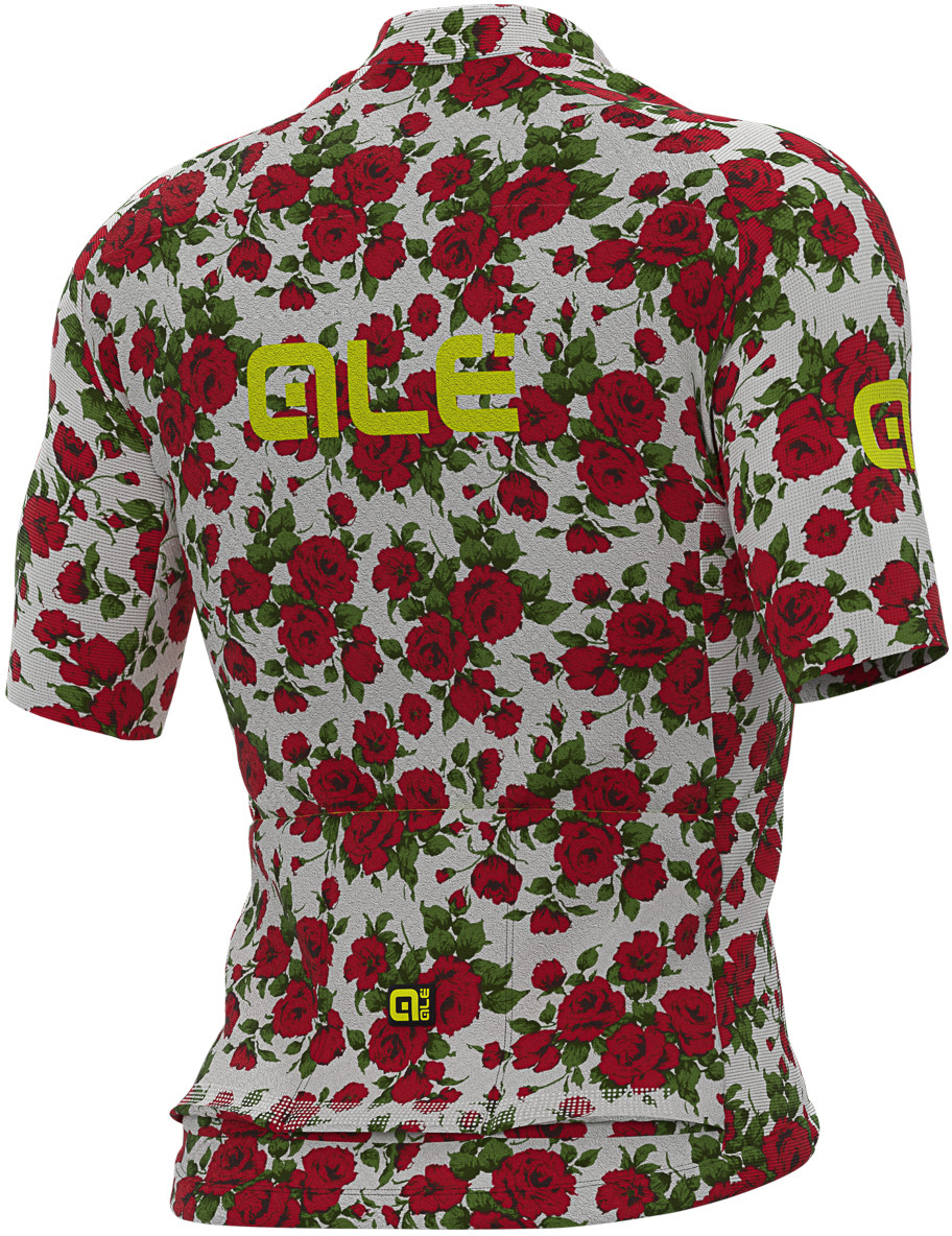 ALE' Roses PRR Red Jersey Rear